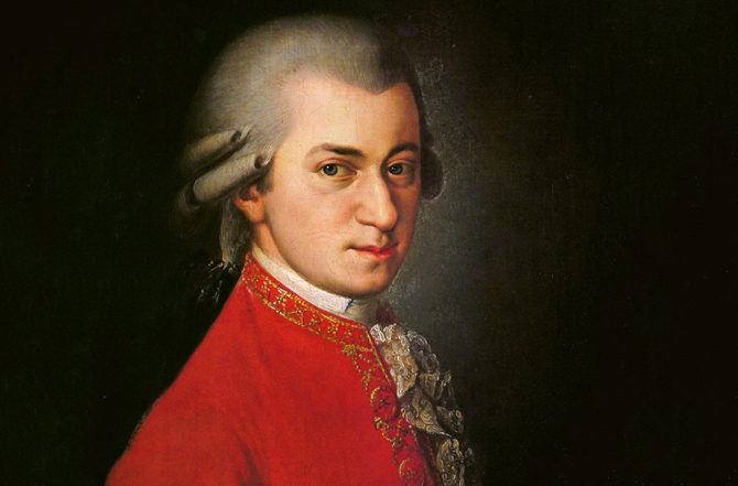 Medalion W. A. Mozart