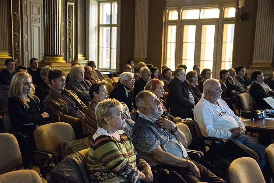 Spectacol de film mut si muzica oct 2017 Filarmonica Arad